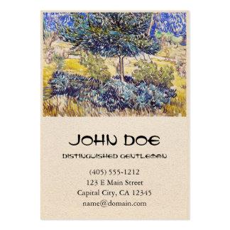 Trees Shrubs Asylum Garden Vincent Van Gogh Business Card Template