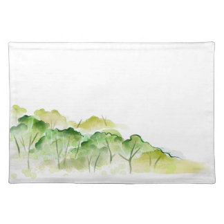 Trees Sketch Place Mats