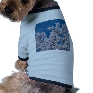 Trees Snow Branches Minnesota Dog Clothing