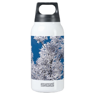 Trees Snow Branches Minnesota 10 Oz Insulated SIGG Thermos Water Bottle