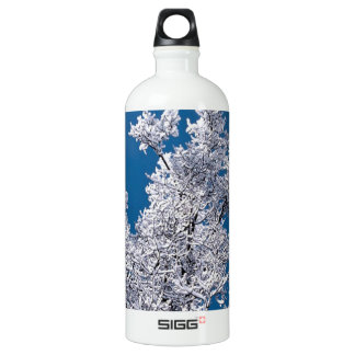 Trees Snow Branches Minnesota SIGG Traveler 1.0L Water Bottle