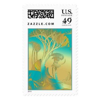 Trees Stamp