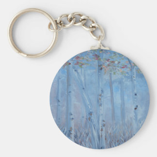 Trees Tall and Lovely Keychain
