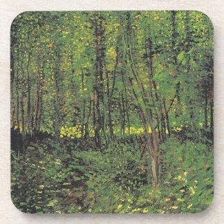 Trees & Undergrowth by Van Gogh Coasters