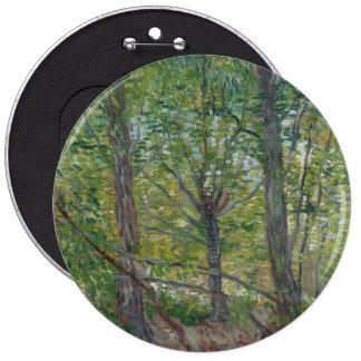 Trees,Vincent van Gogh Pinback Buttons