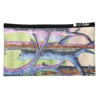 Trees Watercolor Artistic Poetic Tree by Child Cosmetic Bag