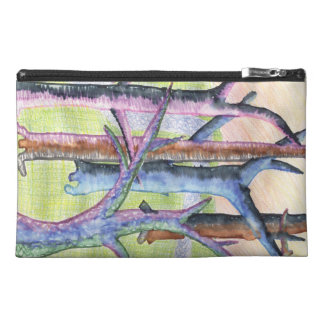 Trees Watercolor Artistic Poetic Tree by Child Travel Accessory Bag