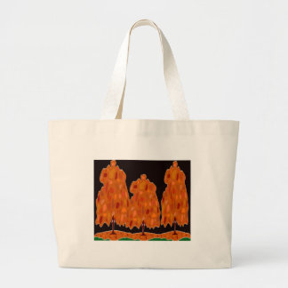 Trees With Color - Large Tote Bag