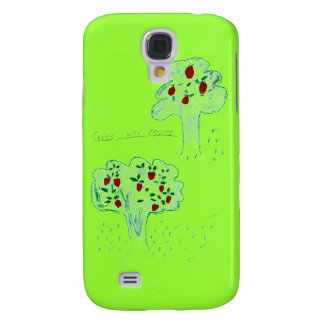 TREES WITH FRUITS GALAXY S4 COVER