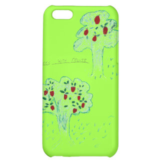 TREES WITH FRUITS iPhone 5C COVERS