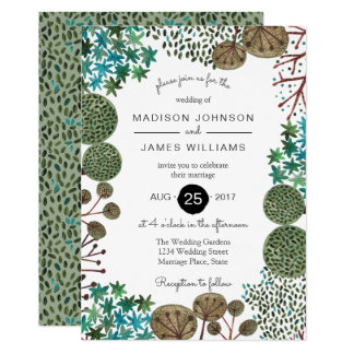 Trees Woodland Forest | Wedding | Invitation