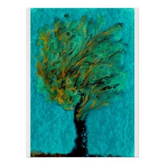 "Treesus 20""x26.67"" poster"