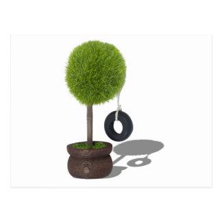 TreeSwing081510 Postcard