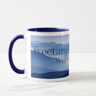 Treetangle 2-Toned Mug in Blue