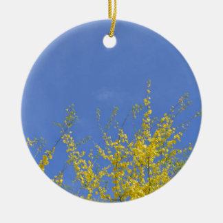 Treetop Ceramic Ornament
