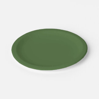 Treetop Paper Plate