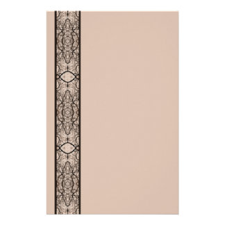 Treetop Spider's Web Sepia Stationery
