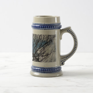 Treetops in the Clouds 18 Oz Beer Stein