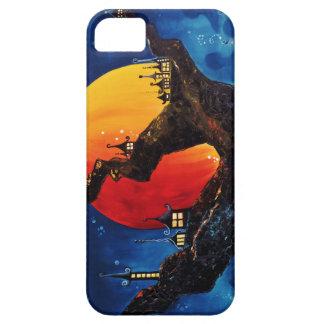 Treetown, Halloween Tree at Midnight, Phone Case iPhone 5 Case