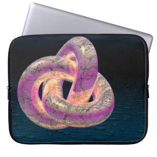 Trefoil laptop sleeve