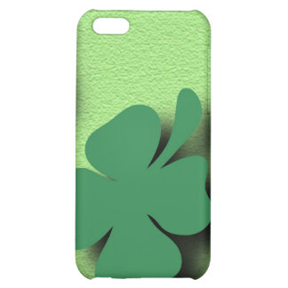 Trefoil symbol irish on the green background case for iPhone 5C