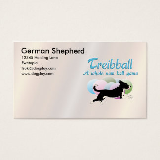 Treibball Business Card