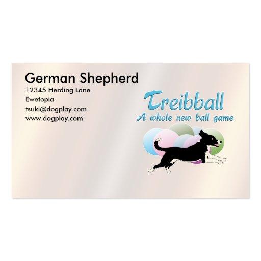 Treibball Business Card