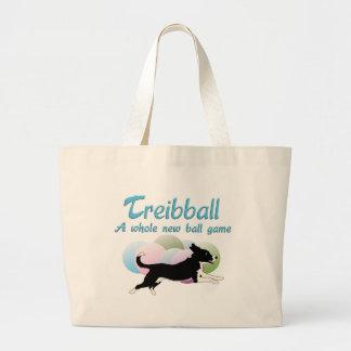 Treibball Large Tote Bag