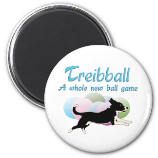 Treibball Fridge Magnet