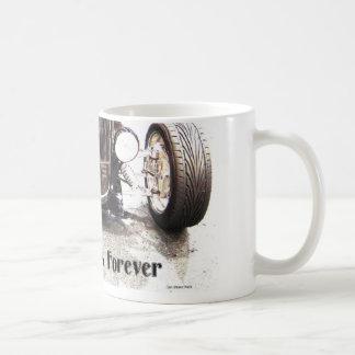 Treinta dos asaltan para siempre tazas de café