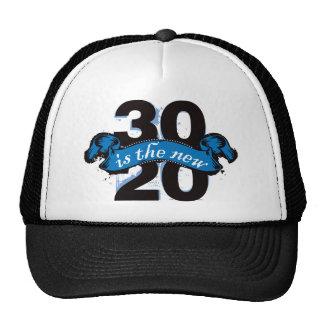 Treinta es los nuevos veinte - azul gorro de camionero