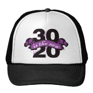 Treinta es los nuevos veinte - púrpura gorro de camionero