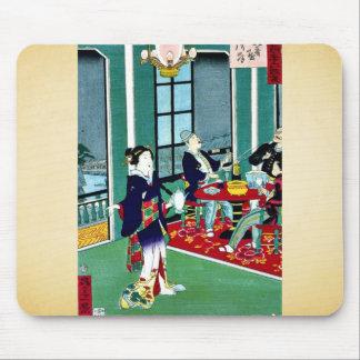 Treinta y seis diversiones en extranjeros de Tokio Mouse Pads