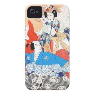 Treinta y seis retratos de los actores de Kabuki - iPhone 4 Case-Mate Coberturas