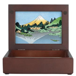 Treinta y seis vistas del monte Fuji Katsushika Ho Caja De Recuerdos