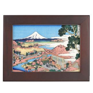 Treinta y seis vistas del monte Fuji Katsushika Ho Cajas De Recuerdos