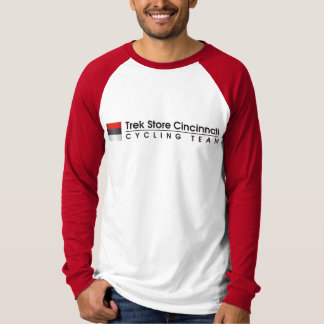Trek Store Cincinnati Cycling Team raglan T-Shirt
