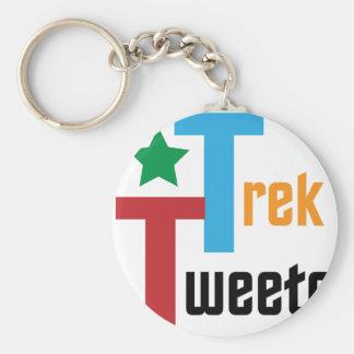 Trek Tweets Keychains