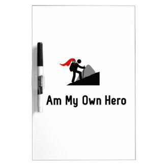 Trekking Hero Dry Erase Board