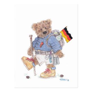 Trekking in Germany postcard