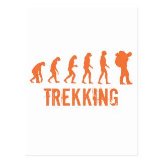 Trekking Postcard