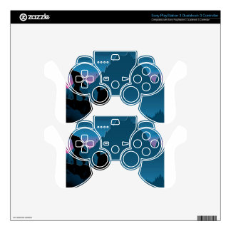 Trekking travel design skins for PS3 controllers