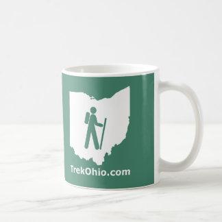 TrekOhio Mug, Green Coffee Mug