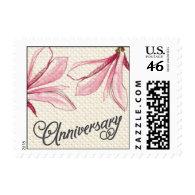 Trellis - Anniversary - 4C - Pink Stamp