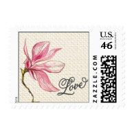 Trellis - Love - 4C - Pink Postage Stamps