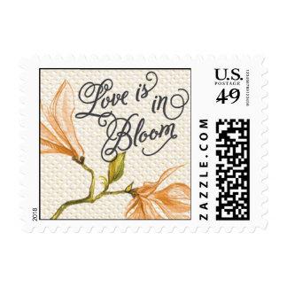 Trellis - Love is in Bloom - 4C - Orange Stamps