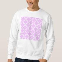 trellis,modern,cute,girly,trendy,pink,fun,pattern, sweatshirt