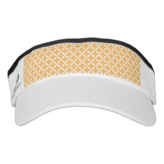 trellis,modern,cute,girly,trendy,yellow,cute,fun,p visor