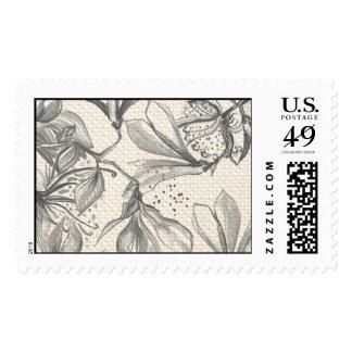 Trellis - Pattern - Gray Postage