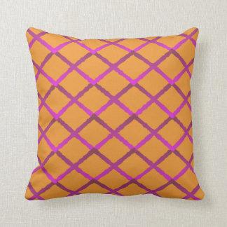 Trellis Pattern Pillow